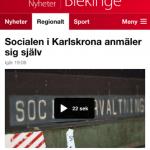 Soc Karlskrona anmäler sig