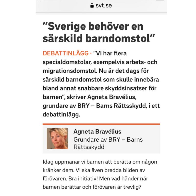 Från SVT Opinion